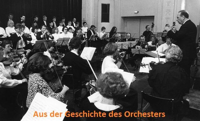 Aus der Geschichte des Orchesters
