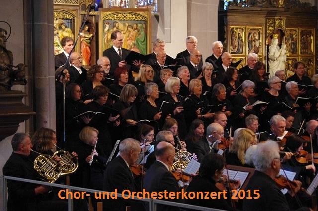 Chor- und Orchesterkonzert 2014