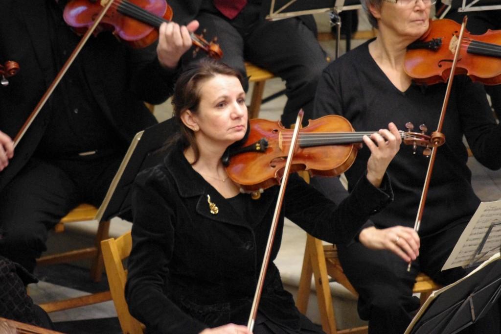 Konzertmeisterin Tatjana Betz