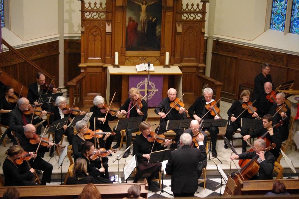 Das COLLEGIUM MUSICUM Bad Honnef in der evangelischen Kirche Königswinter