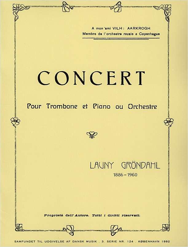 Gröndahl Concert
