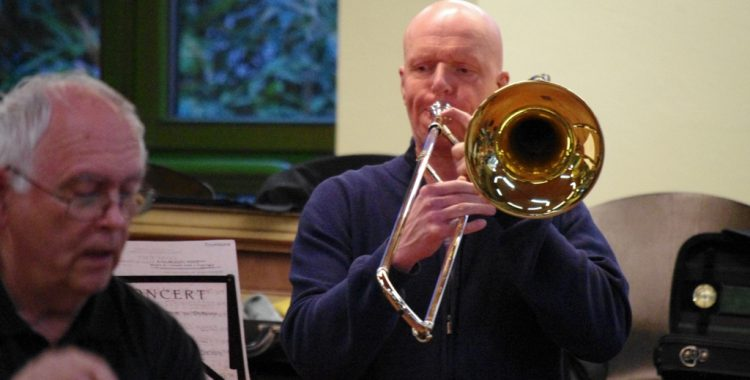 Orchesterprobe mit Gerhard Halene