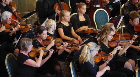 Impressionen vom Jubiläumskonzert im Kurhaus 2016