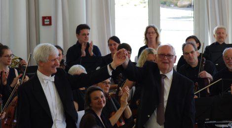 Impressionen vom Jubiläumskonzert auf dem Petersberg